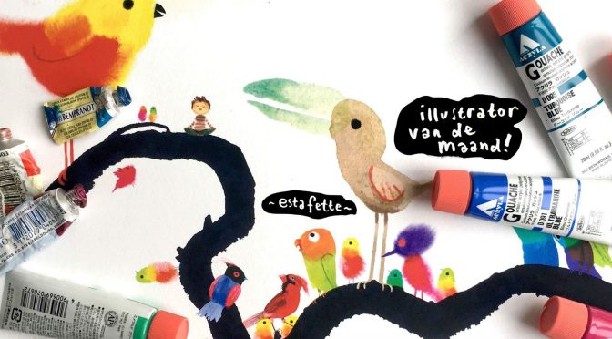 #8 Illustrator Estafette: Kees de Boer