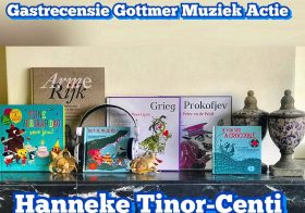 GroteGottmerMuziekBoekenTestActie gastrecensie door Hanneke Tinor-Centi van Peter en de Wolf