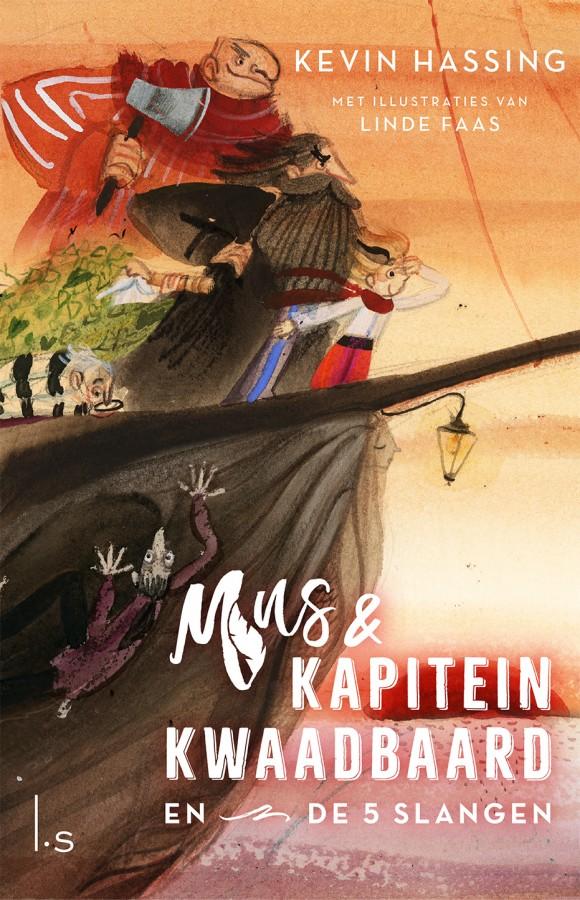 Mus & kapitein Kwaadbaard en De 5 slangen