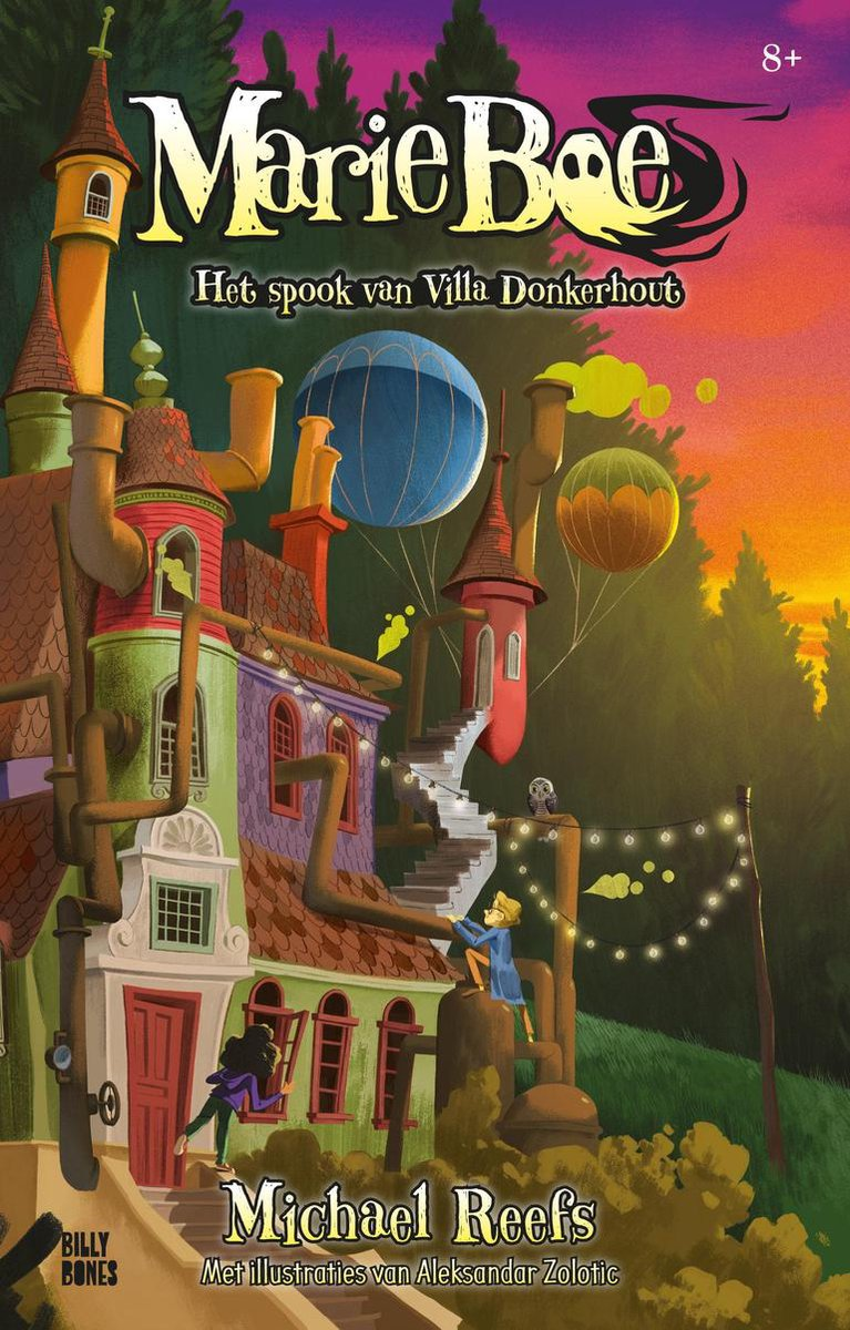 Marie Boe: Het spook van Villa Donkerhout